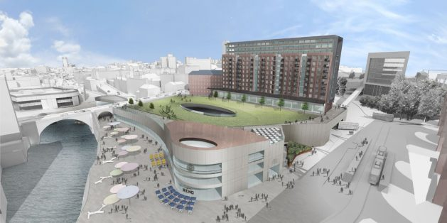 Stockport Transport Interchange Moving Closer